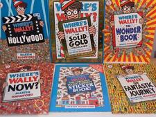WHERES WALLY ? THE SOLID GOLD COLLECTION BOOKS PLUS STICKERS