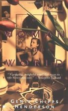 A WOMAN OFWORLD By Genie Chipps Henderson - Hardcover **BRAND NEW**