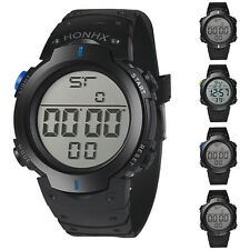 Men Casual Sports Water Resistant LED Backlight Date Digital Wrist Watch Ardent