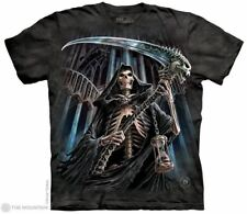 Final Verdict Adults Grim Reaper T-Shirt - Dark Fantasy by The Mountain T-Shirts