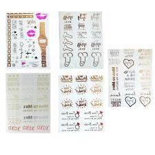 Temporary Tattoos Team Bride White Hens Night Party & Free Gift Hens