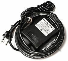 Power Supply for Phonic MM1705A/MM1805: Output:~16.8V*2/1000mA