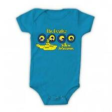 The Beatles Yellow Submarine Portholes Baby Romper Shirt All Sizes New