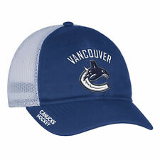Vancouver Canucks Adidas NHL Authentic Pro Meshback Slouch Flex Cap