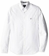 GANT Men's Slim Oxford Stripe Shirt - Choose SZ/Color