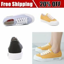 RENBEN Canvas Shoes Flats Casual Shoes Women Fashion Sneakers Simple Loafers I5