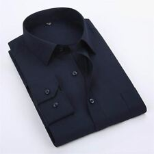 New Stylish Plus Size Casual Long Sleeved Single Breasted Shirt For Men