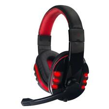 Gaming Headband Headset USB Port Wired Mic Headphone for SONY PS3 PC Game