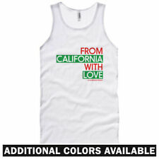 From California With Love Unisex Tank Top - Men Women XS-2X - Cali Los Angeles