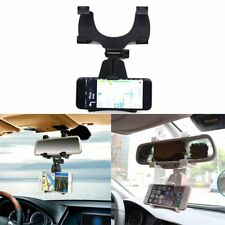 Car Rearview Mirror Mount Holder Stand Cradle For Cell Phone GPS / PDA / MP4