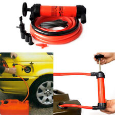 Portable Manual Oil Pump Siphon Tube Hose Fuel Gas Extractor Transfer Sucker lot