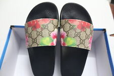 Women's Light GG Blooms Supreme slide sandal flower Gucci Size 5,6,7,8,9