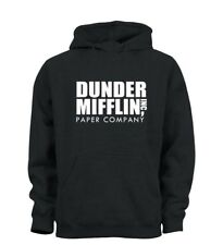 Dunder Mifflin Paper Company Funny Office Inspired Hoody Hoodie Kids Boys Girls