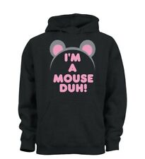 I'm A Mouse Duh Funny Mean Girls Inspired Halloween Hoody Hoodie Kids Boys Girls