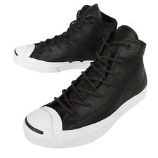 Converse Jack Purcell Jack Black Leather Men Classic Shoes Sneakers 149937C