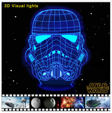 Star Wars Stormtrooper 3D Table Lamp LED Colorful Table Night Light