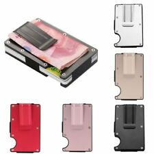 Stainless Steel Elastic Band Slim Money Clip Credit Card Holder Wallet Purses