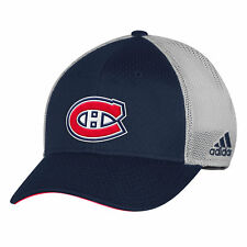 Montreal Canadiens Adidas NHL  Meshback Structured Flex Cap