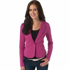Women Casual One Button Candy Color Spring Long Sleeve Blazer