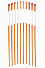 Orange 36inch Reflective Driveway Markers Property markers Snow Poles