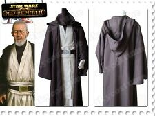 Star Wars Jedi Master Ben Kenobi/Obi-Wan Cosplay Costume Tunic Suit Custom-made