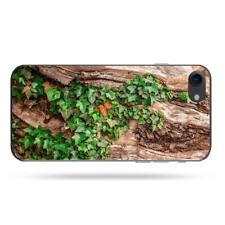 iPhone 6/7/Plus Soft Protective Case Ivy Wood Log Nature Structure