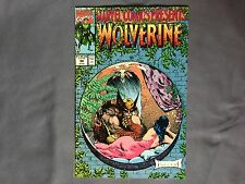 Marvel Comics Presents #90 Marvel 1991 Wolverine, Ghost 👻 Rider , Cable 🌮