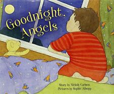 GOODNIGHT ANGELS By Carlson Melody - Hardcover *Excellent Condition*