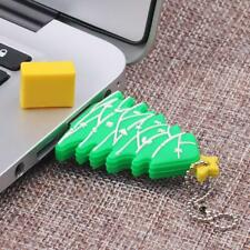 4/8/16/32/64GB USB Flash Drive Memory Stick Thumb Pen Drives Christmas Tree