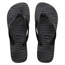 Havaianas Top Graphic Thongs in Black
