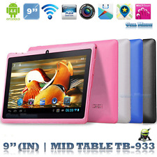 9'' A33 Tablet  Android 4.4 Quad Core Dual Camera  WIFI HD 1G + 16G US.