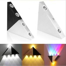 Modern Triangle Wall Light Fixture Indoor Hallway Up Down Lamp Decorative LED 5W