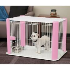 Dog Crate Kennel Playpen Cage Wire Pet Play Pen Fence House Indoor Cat Large Set