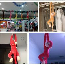 Mascot Cute Long Arm Monkey Plush Toy Doll Colorful Curtain Decoration Kids Gift