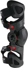 Alpinestars Fluid Tech Carbon Left Knee Brace Powersports Motorcycle