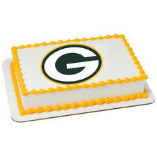 Green Bay Packers NFL Edible Image Cake Topper Photo Icing Frosting Sheet