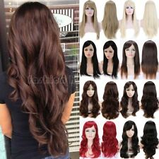 Blonde Black Brown Women Hair Wig Wavy Curly Straight Long Cosplay Party Wig hg