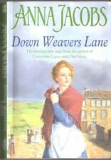 DOWN WEAVERS LANE PARAGON SOFTCOVER LARGE PRINT BOOKS By Jacobs Anna *Excellent*