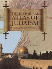 HISTORICAL ATLAS OF JUDAISM By Barnes Dr Ian - Hardcover **Mint Condition**