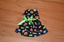 Small - Halloween Candy on Black  - Dog dress clothes-Puppy Apparel -TOY