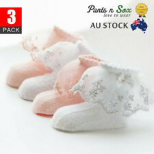New Lace Girls Ruffle Baby Princess Kids Ankle Socks Frilly Infant Girl Toddle