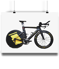 Trek Speed concept lance armstrong TT bicycle prints illustration livstrong