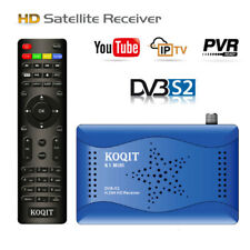 1080P HD DVB-S2 Digital Satellite Receiver Youtube TV Tuner WIFI Key FTA Decoder