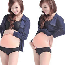 Silicone Fake Belly Artificial Fake Pregnancy Baby Tummy Pregnant Bump free ship