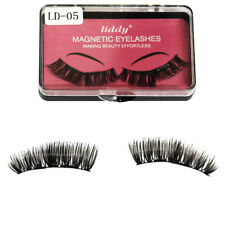Magnetic Eyelashes 3D Reusable False Magnet Eye Lashes Extensions 2 Pairs