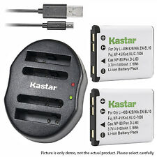 DUAL Charger Combo For Casio NP-80 QV-R70 R100 R200 R300