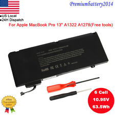 "Lot A1322 Battery For Apple MacBook Pro 13"" A1278 2009 2010 2011 2012 MB991LL/A"