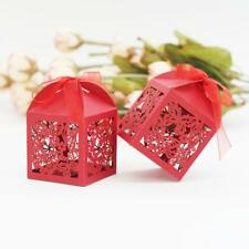 20xPaper Candy Chocolate Boxes Hollowed-out Butterflies Wedding Party Favors