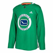Vancouver Canucks adidas adizero NHL Authentic Pro Practice Jersey - Green