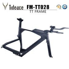 Full Carbon Fiber TT Bike Frames Carbon Time Trial Bicycle Frameset X Brake